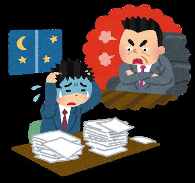 残業は当たり前と言う会社の雰囲気